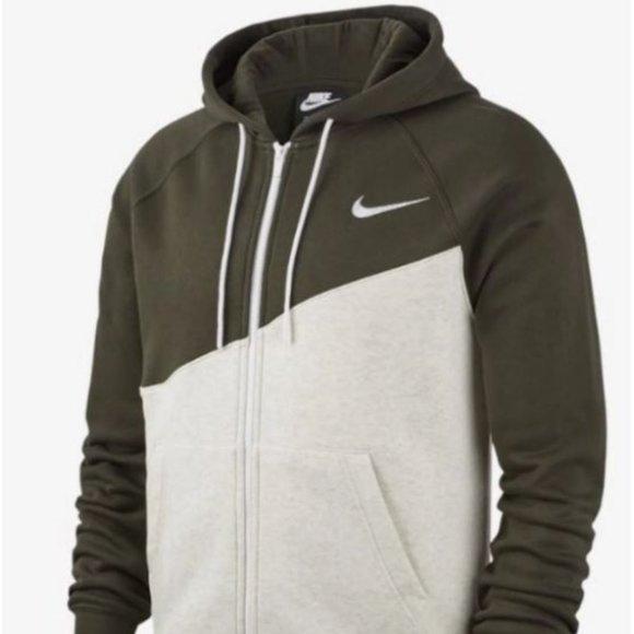 Nike NSW Fleece Full Zip Swoosh men's Hoodie